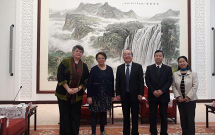 Une délégation lozérienne en déplacement au Guizhou pour le projet d'éco-parc