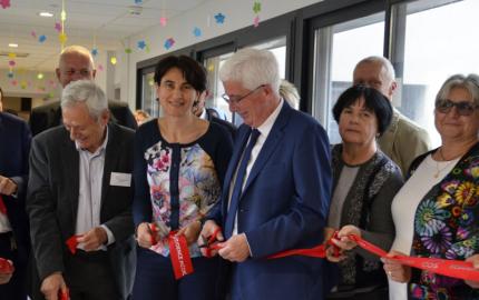 Fin de travaux: le Département inaugure l'Ehpad de la Ginestado