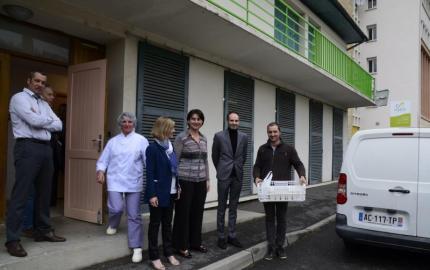 Agrilocal: première livraison au Collège de Marvejols