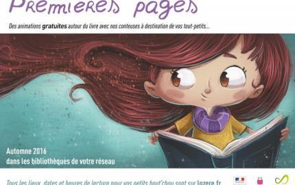 « Premières Pages » pour les tout-petits