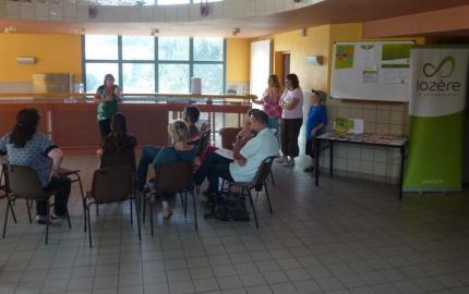 Le Centre Médico-social de Langogne  à la rencontre du public