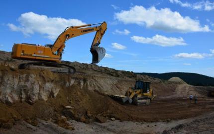 Aménagement de la RD 806 : chantier interrompu