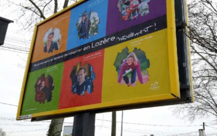 La Grande campagne d'affichage 2017 de la Lozère