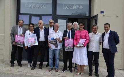 TFCIA: Les cyclistes féminines  à l'assaut du Mont-Lozère