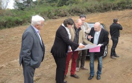 Visite de chantier : une opération structurante de sécurisation de la ressource en eau potable
