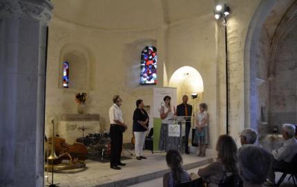 St Flour du Pompidou: la rénovation de l'église célébrée en musique