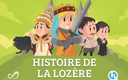 L'histoire de la Lozère racontée aux enfants