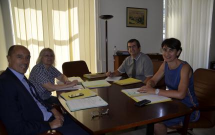 Sophie Pantel a rencontré le nouveau Secrétaire général pour les affaires régionales (Sgar) d'Occitanie