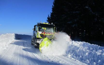Le Département de la Lozère active son dispositif de viabilité hivernale