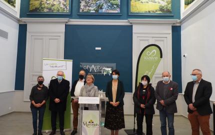 Le Conseil départemental inaugure les travaux de modernisation de l'ancien tribunal de Marvejols