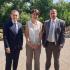 Sophie Pantel et Laurent Suau ont rencontré Gérald Darmanin